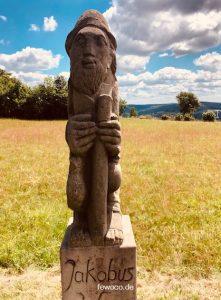 Figur des Bruder Jakobus (Jakobsweg)