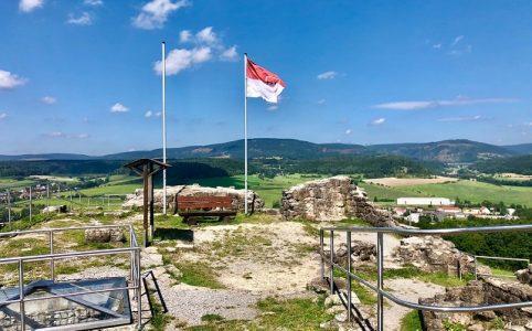 Burgruine Schaumburg in Schalkau