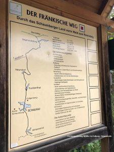 Fränkischer Weg - Schaumberger Land bis Rennsteig