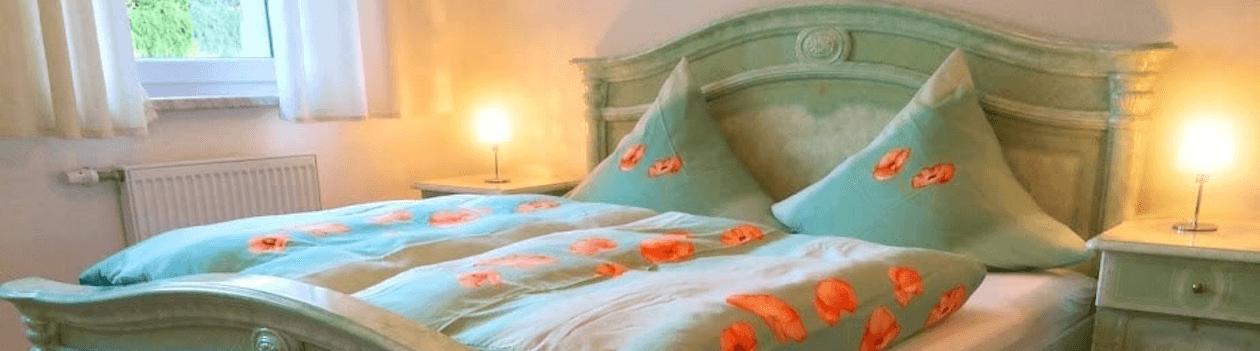Ferienwohnung in Coburg - Schlafzimmer Parterre