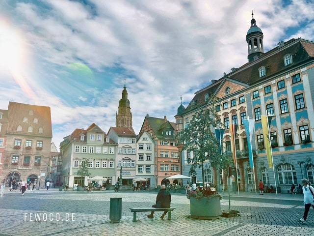 Stadthaus Coburg / Rathaus Coburg / Marktplatz