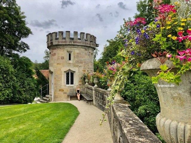 Schloss Rosenau bei Coburg in Rödental