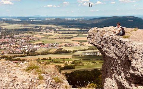 Staffelberg mit Aussicht ins Frankenland